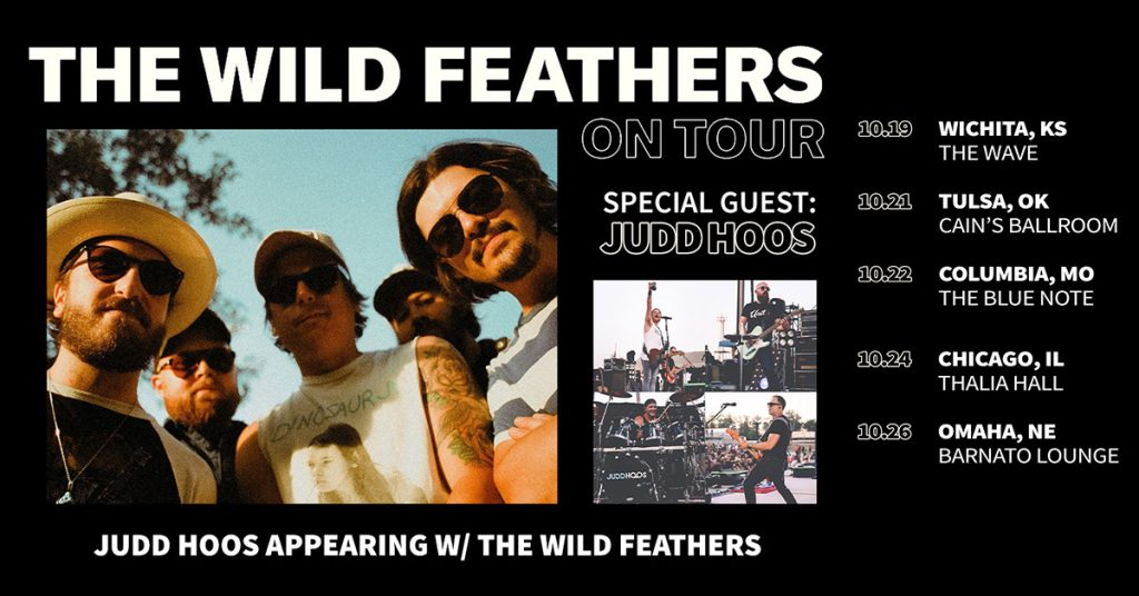 The Wild Feathers and Judd Hoos On Tour